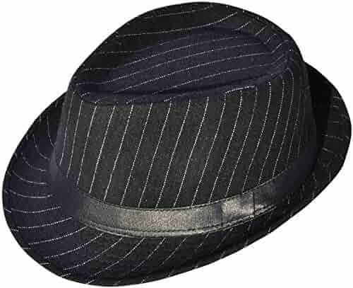 2e07e4cfbd61c Simplicity Men s   Women s Manhattan Structured Gangster Trilby Fedora Hat