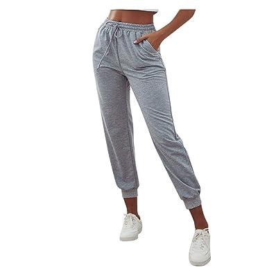 Pantalones Chandal para Mujer Anchos Primavera LuckyGirls 2020 ...