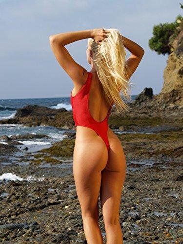 2b9357a86793d Brigitewear ST. Raphael One Piece Thong Bathing Suit - Import It All