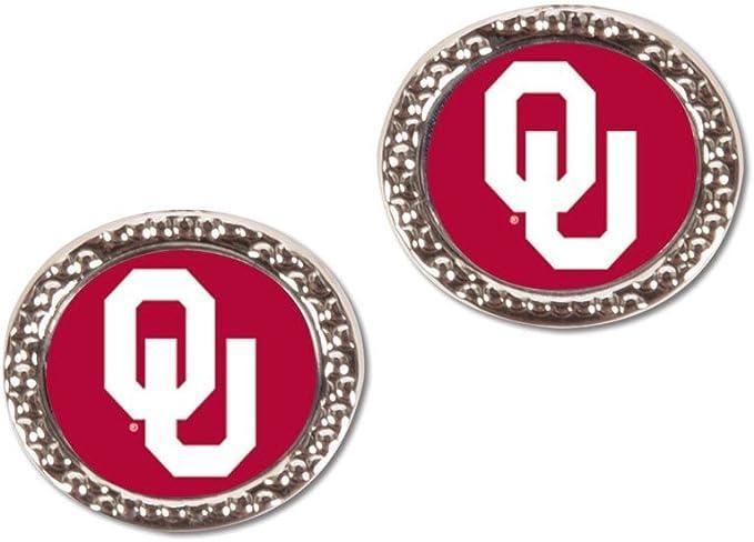 WinCraft NCAA University of Oklahoma Jewelry Carded Earrings