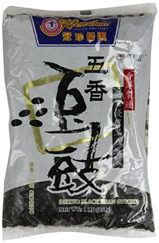 (Koon chun Party Time -- Chinese Douchi - Fermented Black Beans - 16 Oz Bag Each)