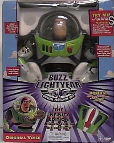 Disney Toy Story Buzz Lightyear the Infinity Edition Ultimate Talking Action Figure