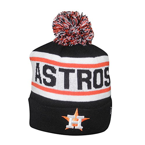 bbe6ff801a5a0c Adult MLB - HOUSTON ASTROS Winter Hat / Beanie with Removable Pom Pom