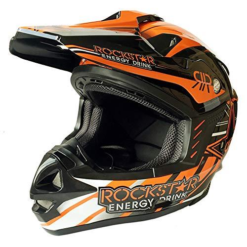 DYM258 Motocicleta Motocross Motos Cascos D.O.T estándar y Certificado ECE Quad Bike Canal de televisión británico IR...