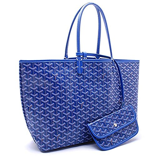 Travel Shoulder Tote Shopping Blue Women amp; Large Bags Top Handbags DLMBB Classic Purse Handle wXPqFFS