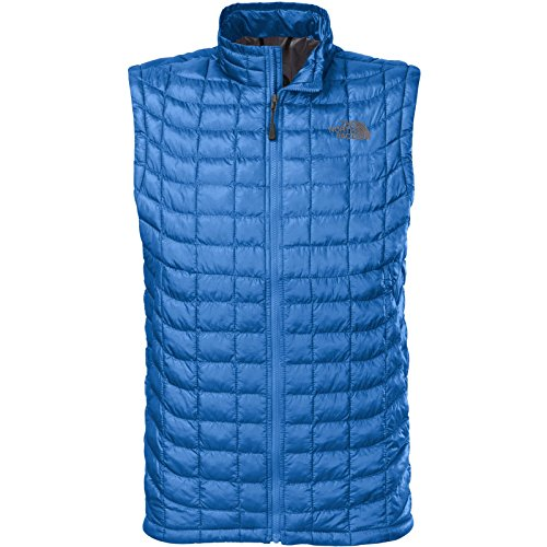 The North Face ThermoBall Insulated Vest - Men's Snorkel Blue, XL