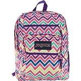 Jansport Big Student Backpack (Bright Summer Chevrons)