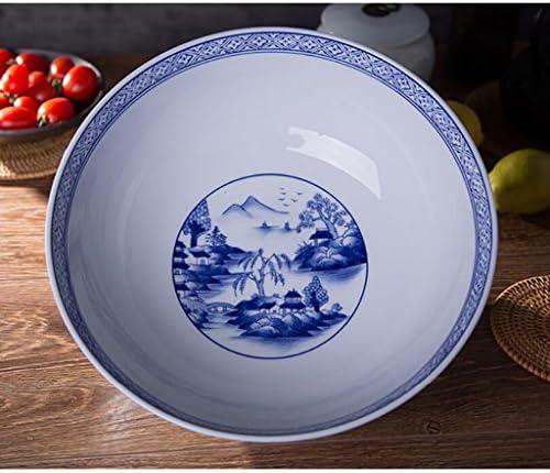 Liuyu Kitchen Home Pots de fermentation en céramique Bols de poisson marinés Peint à la main Sous-vernis Couleurs