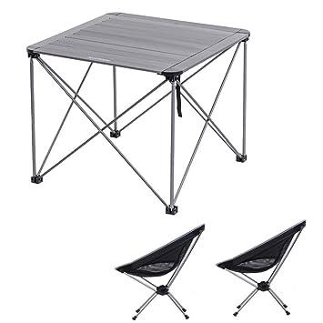 Alf Mesa y Silla de Camping Juego de Muebles de Camping ...