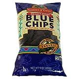 Garden of Eatin' Blue Corn Tortilla Chips, No Salt Added, 8.1 Ounce (Pack of 12)