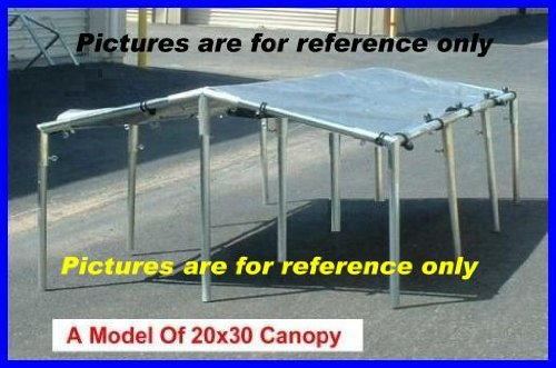 Amazon.com 20 X 30 Canopy Tent Kit for Cars Truck Boat Swimming Pool Picnic Party Etc. (Please Read Description Pipes Are Not Included) Automotive & Amazon.com: 20 X 30 Canopy Tent Kit for Cars Truck Boat Swimming ...