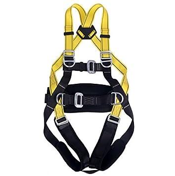 mhgao escalada arnés, seguro cinturones para montañismo exterior ...
