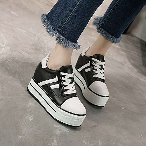 Shoes Women'S Increase five Slope KHSKX In Leisure The In The Korean Match Thirty Increase Fan In Shoes Increased All With Shoes The Sports BUBqxnpI4