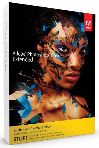 Buy Adobe Photoshop CS6 Extended Student And Teacher Edition 64 bit