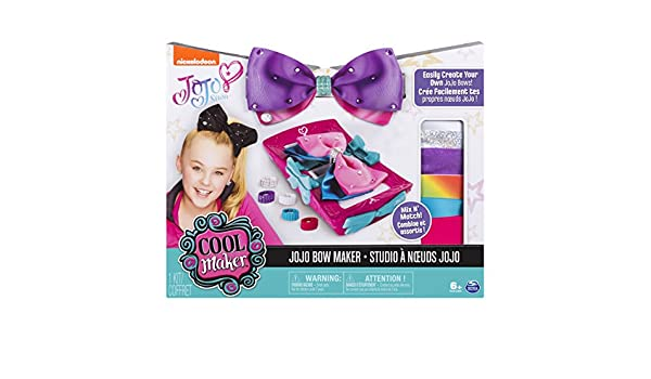 Cool Maker JOJO SIWA Bow Maker: Amazon com au: Toys & Games