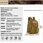 Huntvp 40L Sac à Dos Militaire Tactique Molle Grande Capacité Sac de Multifonction Homme pour Voyage Excursion Camping… 7