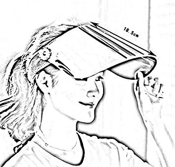 HAIPENG Casquette Chapeau De Soleil Plage Et/é Large Bord Casquettes Visi/ère Gris Argent Lentilles Femmes Anti-UV 360 Degr/és Tournant Polycarbonate 6 Couleurs en Option Chapeau de Soleil