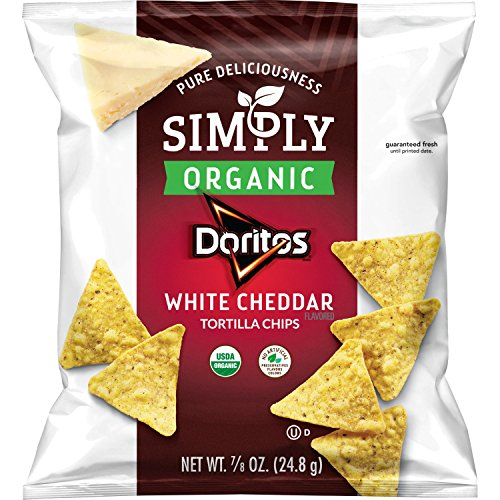 Simply Doritos White Cheddar, 0.875oz (36 Count) ()
