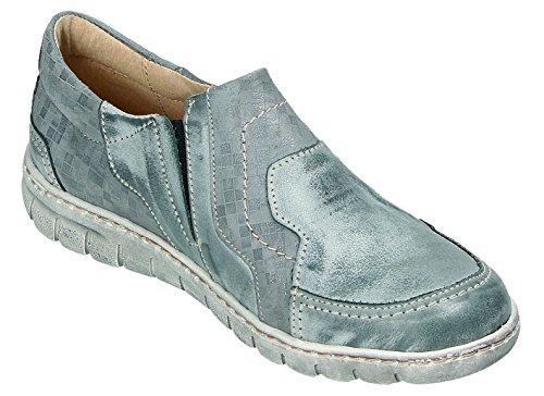 Mujer Gris De Miccos Zapatos Cordones Para x7IUnSBvq