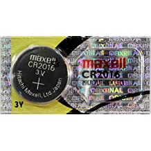 MAXELL 1 Pcs CR2016 CR 2016 - 3V Lithium Button Cell Battery Batteries - NEW