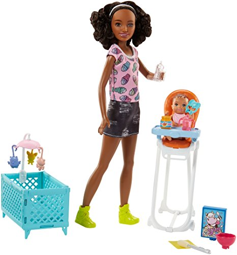 Barbie Skipper Babysitters Inc. Friend Doll and Feeding Playset