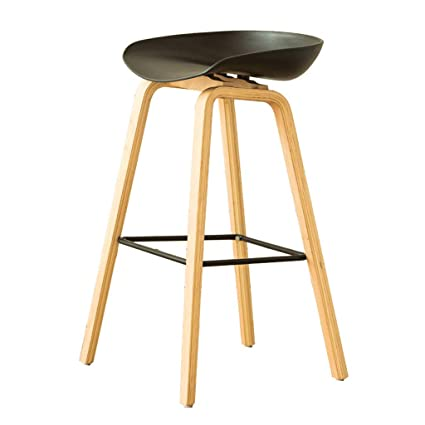 Amazon.com: Nordic Style Bar Chair, Bar Stools Counter Chair ...