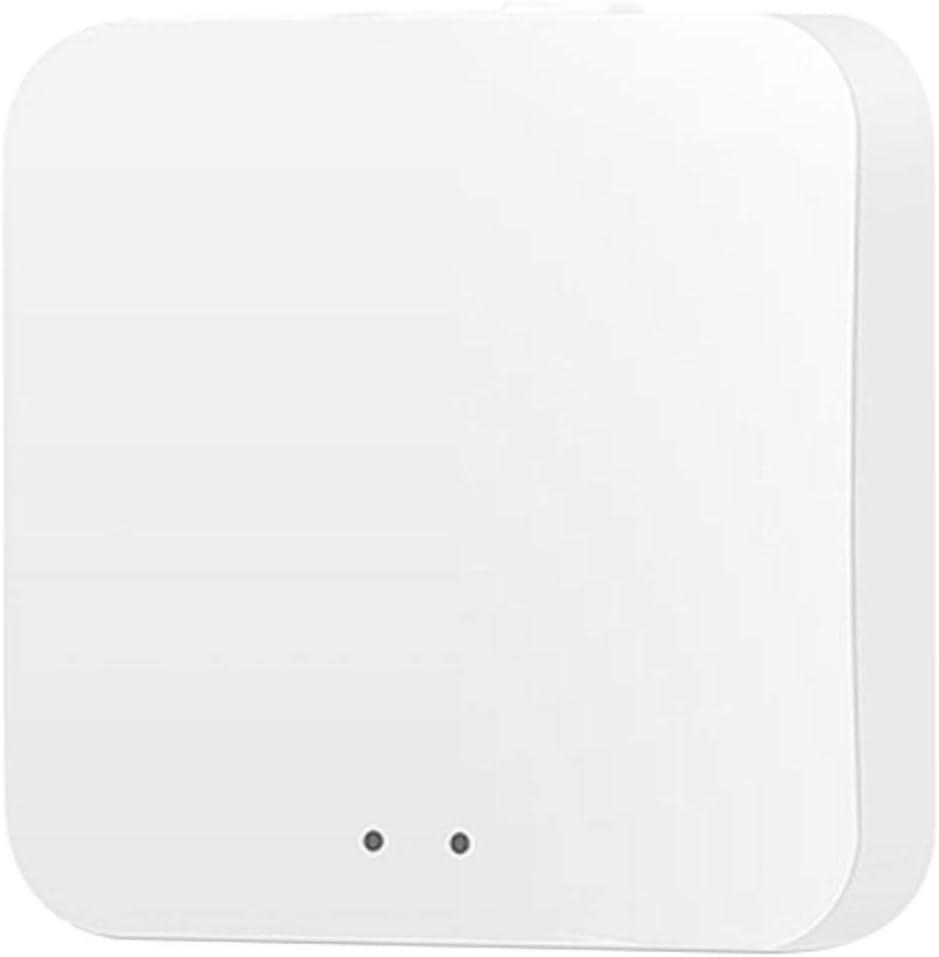 BAHER Tuya Zigbee 3.0 Mini Hub Gateway, WiFi Smart Control Center for Home Security System, Wireless Control via Tuya/Smart Life App, Compatible with Alexa