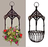 Tall 25″ French Victorian Hanging Basket Gazebo Design For Sale