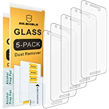 [5-PACK]- Mr Shield For LG (Google) Nexus 5X 2015 Newest [Tempered Glass] Screen Protector [0.3mm Ultra Thin 9H Hardness 2.5D Round Edge] with Lifetime Replacement Warranty