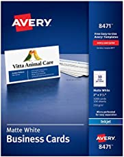 Diy double sided business cards free template mac users avery printable business cards inkjet printers 1000 21975114 colourmoves