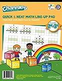 Channie's M603 Triple digit Math LineUp Pad Math Workbook, 2nd/3rd Graders