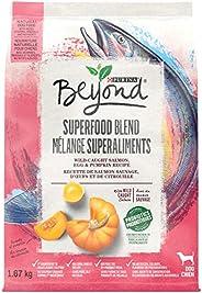 Beyond Superfood Natural Dry Dog Food, Salmon, Egg, Pumpkin 1.67 kg Bag