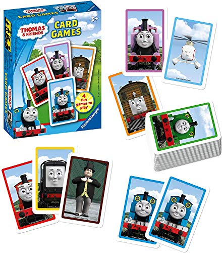 Yellow Fly Design UK Thomas and Friends Thomas The Train Card Games Snap Happy Trains Swap and Train Pairs Memory Game
