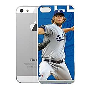 Light weight with strong PC plastic For HTC One M7 Phone Case Cover Sports Collegiate MLB Los Angeles Dodgers Clayton Kershaw 22 LA Dodgers Action Shot