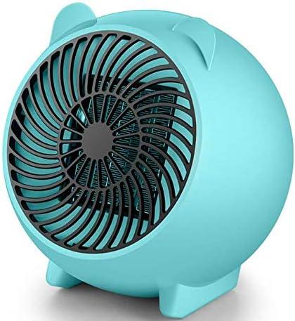 500W Chauffage pour Prise Murale Radiateur Soufflant Convecteur Portable Heater