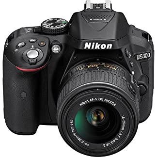 Nikon D5300 with 18-55 mm VR II Lens (Black) 8