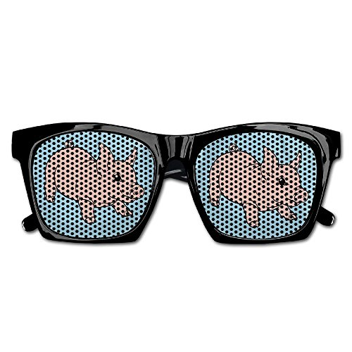 Elephant AN Themed Novelty Playful Baby Pig Decoration Visual Mesh Sunglasses Fun Props Party Favors Gift Unisex