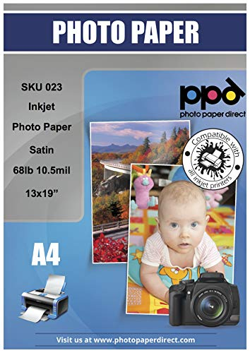 PPD Inkjet Satin Luster Super Premium Photo Paper 13x19