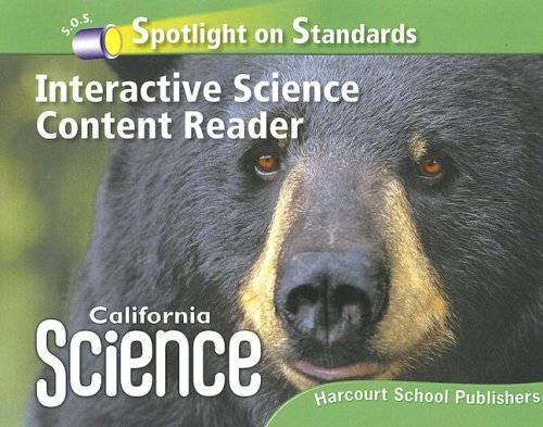 Harcourt School Publishers Science California: Interactive Science Cnt Reader Reader Student Edition Science 08 Grade 4
