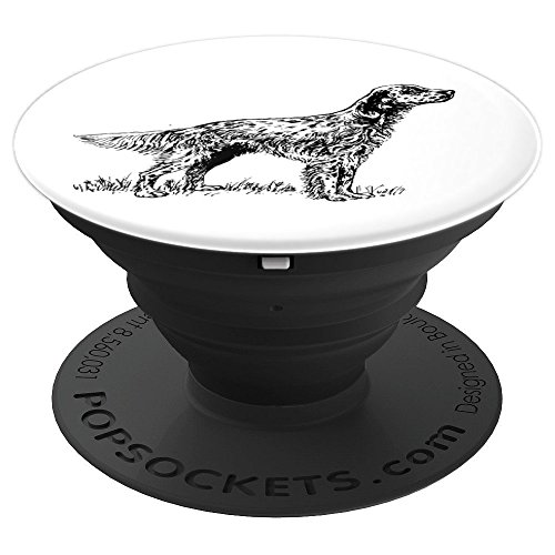 (English Setter - PopSockets Grip and Stand for Phones and Tablets )