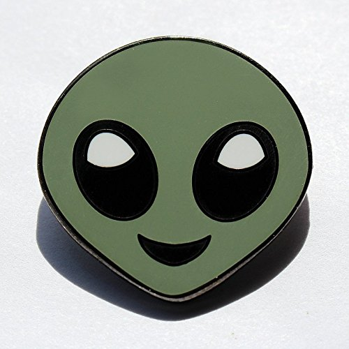 Not So Scary Halloween Party Costumes (Alien Emoji Pin – Enamel Pin For Your Life)