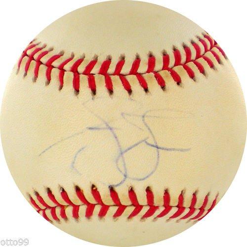 Ruth Vintage Baseball Babe Glove - ANDRUW JONES SIGNED VINTAGE RONLB BALL ATLANTA BRAVES SOX YANKEES JAPAN BASEBALL