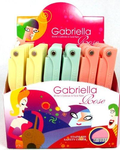 Gabriella Womens Folding Eyebrows & Facial Razor by Gabriella