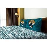 NFL Anthem Jacksonville Jaguars Bedding Sheet Set: Full
