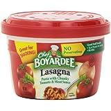 Chef Boyardee Lasagna, 7.5-Ounce Microwavable Bowls (Pack of 12)