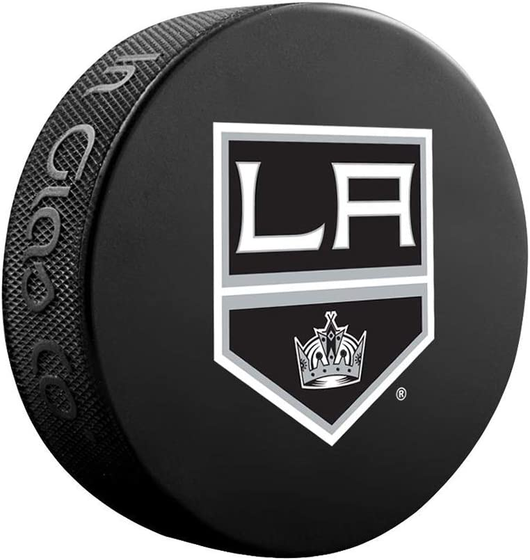 PROGUARD SPORTS NHL Licensed Los Angeles Kings Player Ice Hockey Logo Puck : Sports & Outdoors