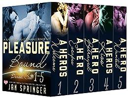 Pleasure Bound Boxed Set: A Futuristic Erotic Romance Boxed Set Series Books 1-5 by [Springer, Jan]