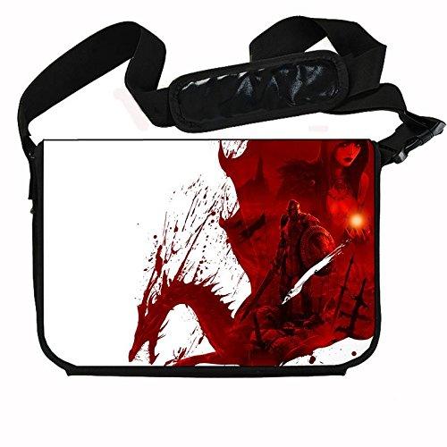 Dragon Age Origins Game Stylish Messenger Bag / Lap Top Bag (15 x 11) Inches (Dragon Age Origins Best Items)