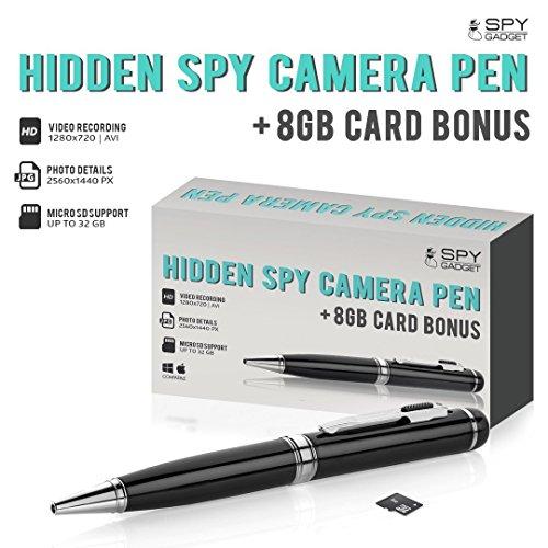 Spy GadgetR 720P Pen Camera W True HD