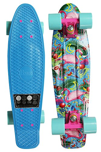 Penny 22-Inch Graphic Complete Skateboard Pink Flamingo
